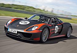 Porsche 918 Spyder - Frontansicht