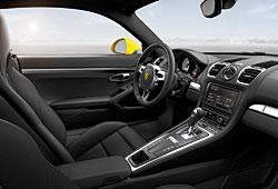 Porsche Cayman Innenraumansicht