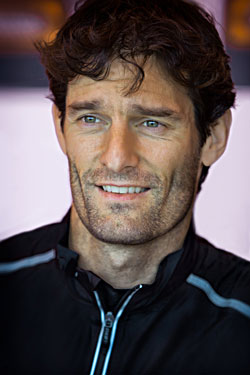 Mark Webber - Portrait