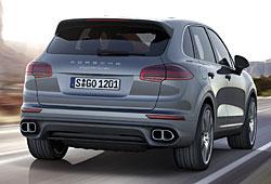 Porsche Cayenne S - Heckansicht