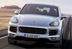 Porsche Cayenne S - Frontansicht