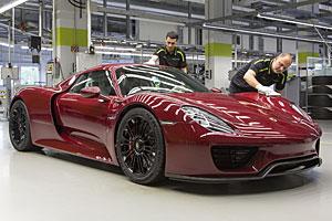 Porsche 918 Spyder - Produktion eingestellt