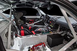 Porsche Cayman GT4 Clubsport - Innenraum