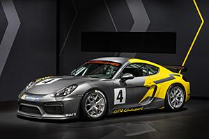 Porsche Cayman GT4 Clubsport - Außenansicht