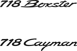 Porsches neue Baureihe 718 mit alt bekannten Modellen