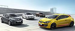 Renault Mégane-Familie mit neuem Markengesicht