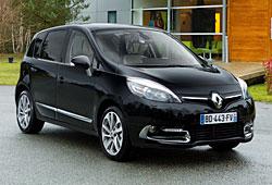 Renault Scénic mit neuem Markengesicht