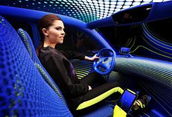 Renault Twin Z - Innenraumansicht