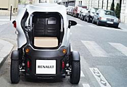 Renault Twizy Cargo - Heckansicht