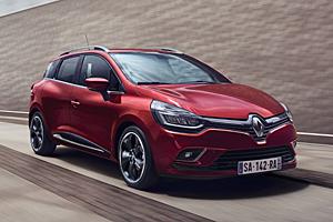 Renault Clio mit Facelift