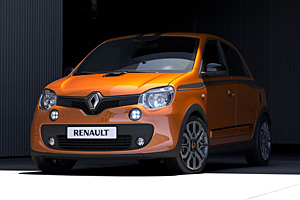 Renault Twingo GT: Frontansicht
