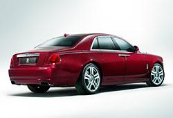 Rolls-Royce Ghost Series II - Heckansicht