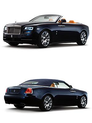 Rolls-Royce Dawn - offen und geschlossen
