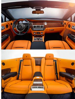 Rolls-Royce Dawn - Innenbereich