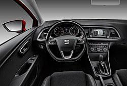 Seat Leon SC Cockpit auf der Fahrerseite