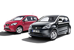 Seat Mii Edition Red und Black