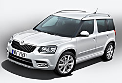 Skoda Yeti im City-Look