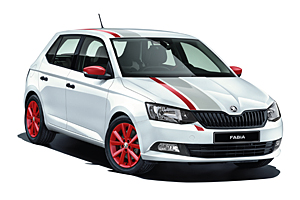 Skoda Fabia Cool Edition Red & Grey-Design