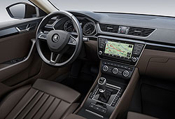 Skoda Superb - Interieur