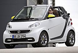 Smart Fortwo Edition BoConcept Cabrio - seitliche Frontansicht