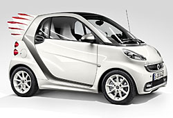 Smart Fortwo Edition by Jermey Scott - Seitenansicht
