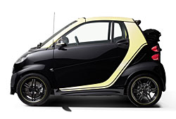 Smart Fortwo Edition Moscot - Seitenansicht