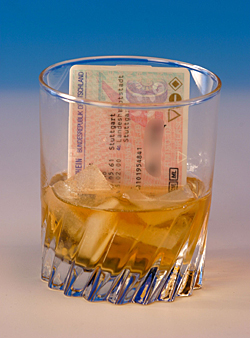 Führerschein und Alkoho