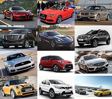 Überblick - Autoneuheiten 2014 - Auszug
