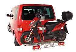Rameder. Trägersystem für Motorroller