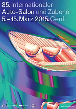 Genfer Autosalon - Plakat 2015
