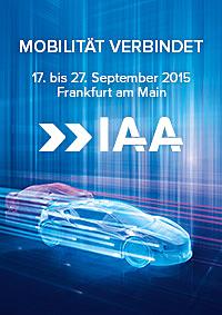 Messe-Plakat IAA 2015