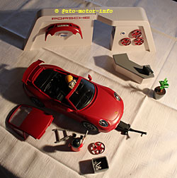 Playmobil-Porsche 911 Carrera S - Gesamtübersicht