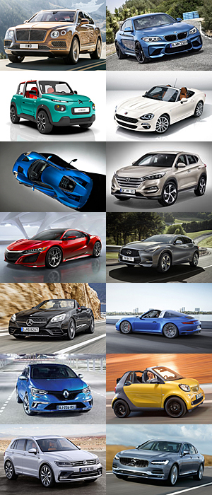 Autojahr 2016 -Auswahl