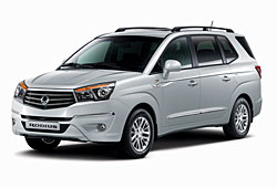 SsangYong Rodius - Frontansicht