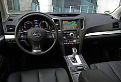Subaru Outback - Cockpit
