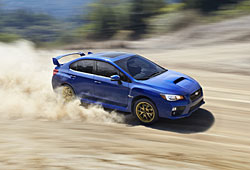 Subaru WRX STi in action