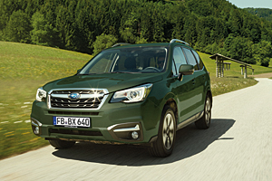 Subaru Forester Edition Huntergreen