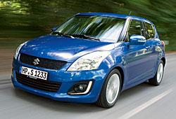Suzuki Swift - überarbeitete Front