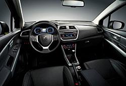 Suzuki SX4 - Cockpit-Ansicht