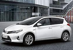 Toyota Auris Seitenansicht