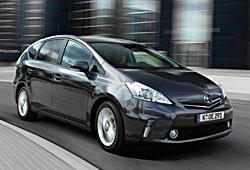 Toyota Prius+ - Front-Seitenansicht