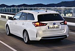 Toyota Auris Hybrid - Heckansicht