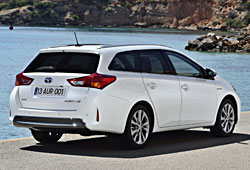 Toyota Auris Touring Sports - Heckansicht