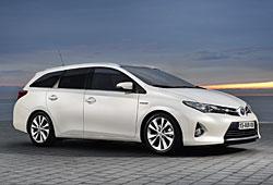 Toyota Auris Touring Sports in der Seitenansicht