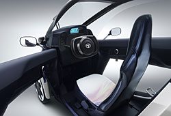 Toyota i-Road - innen