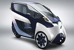 Toyota i-Road - Seitenansicht