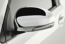 Toyota iQ - Außenspiegelkappen mit Chrom
