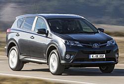 Toyota RAV4 Front-Seitenansicht