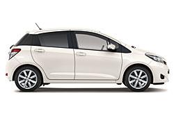 Toyota Yaris Edition - Seitenansicht