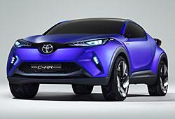 Toyota C-HR Concept Car - Frontansicht
